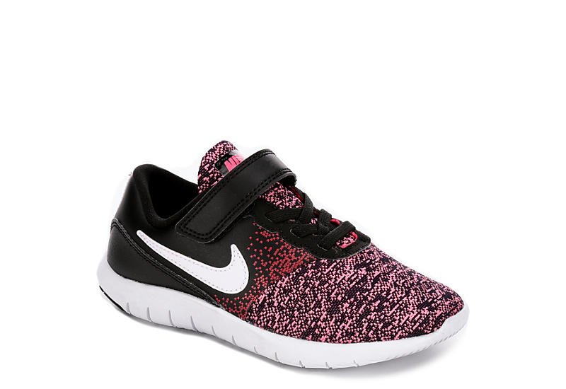 wholesale dealer a68c1 78e8a Nike Girls Flex Contact Preschool Sneaker.  52.99. BLACK