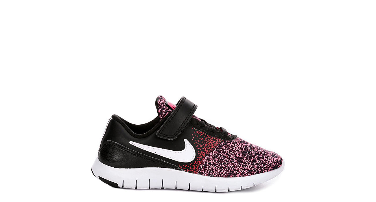 5c86776f3fed Nike Girls Flex Contact Preschool Sneaker - Black
