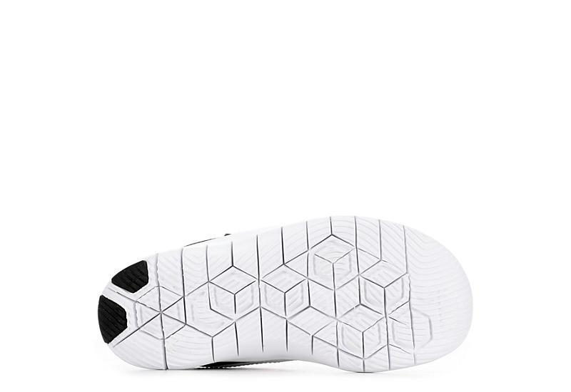 9b708ff90a37 Nike Girls Flex Contact Preschool Sneaker - Black