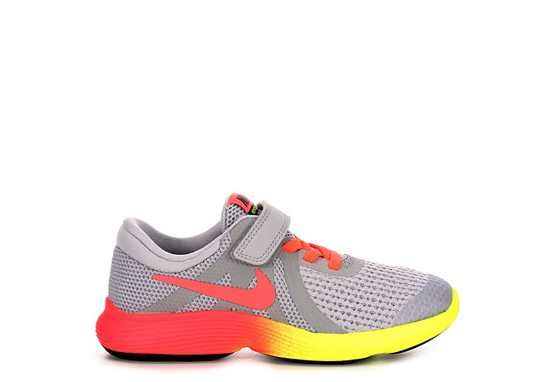 14bc6872 Nike Girls Revolution 4 Preschool Running Shoe