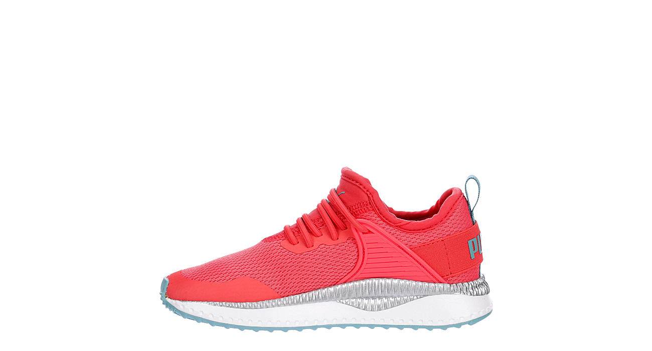 PUMA Girls Pacer Next Cage Sneaker - PINK