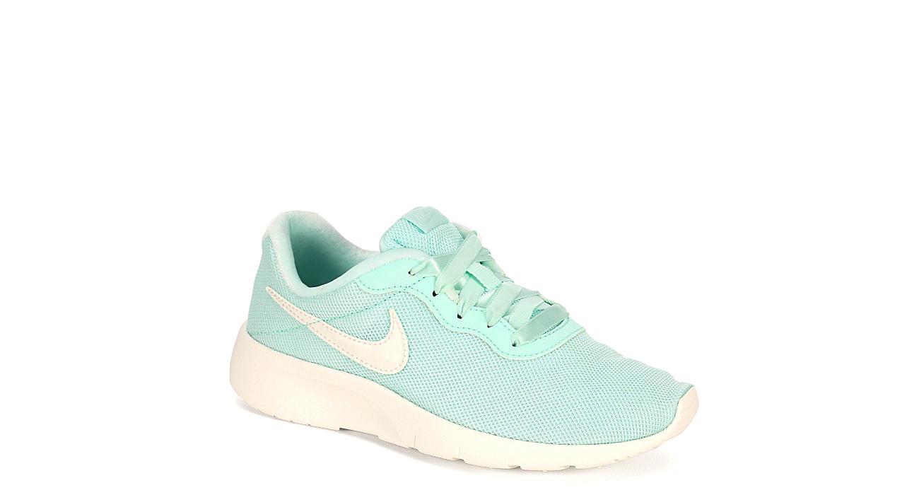 258b5be86ee5 Mint Nike Girls Tanjun Se Preschool Sneaker