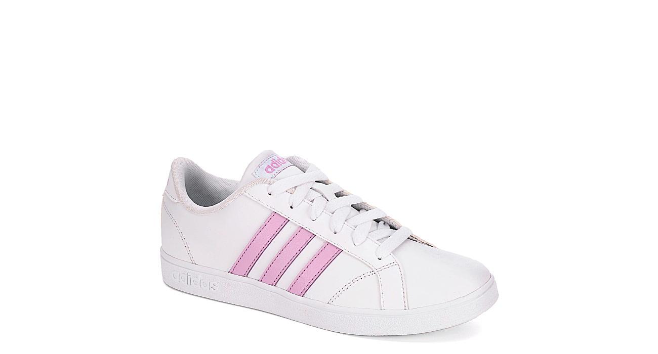 ADIDAS Girls Baseline Sneaker - WHITE