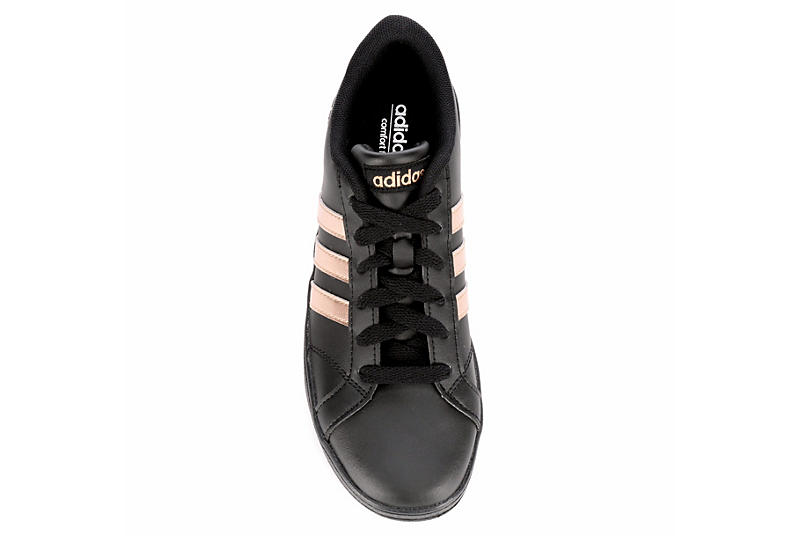 ADIDAS Girls Baseline Sneaker - BLACK