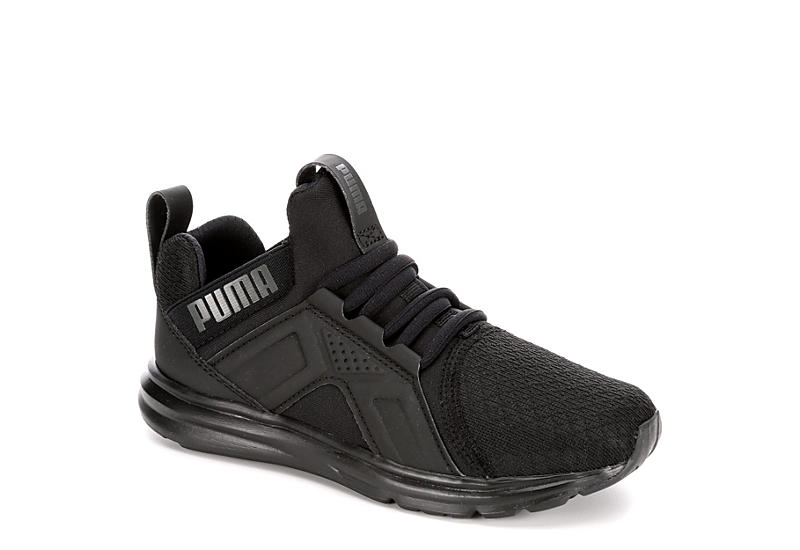 c808acd3154 Black Puma Girls Grade School Enzo Mid Sneaker | Kids | Off Broadway ...
