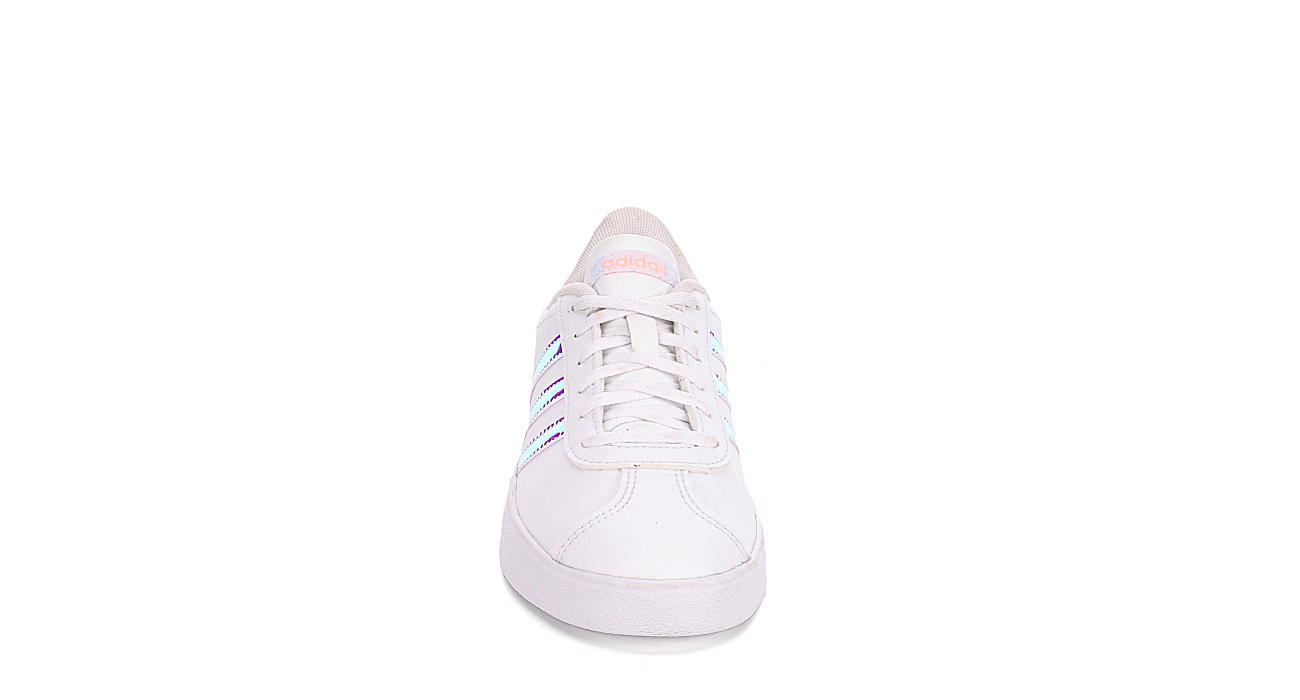 ADIDAS Girls Vl Court 2.0 Sneaker - WHITE