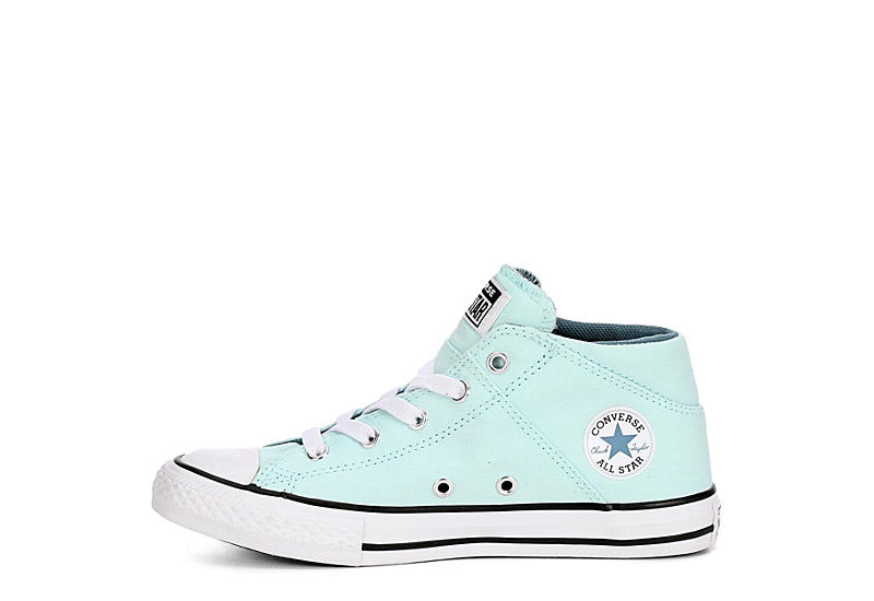 CONVERSE Girls Chuck Taylor All Star Madison Mid Sneaker - TEAL