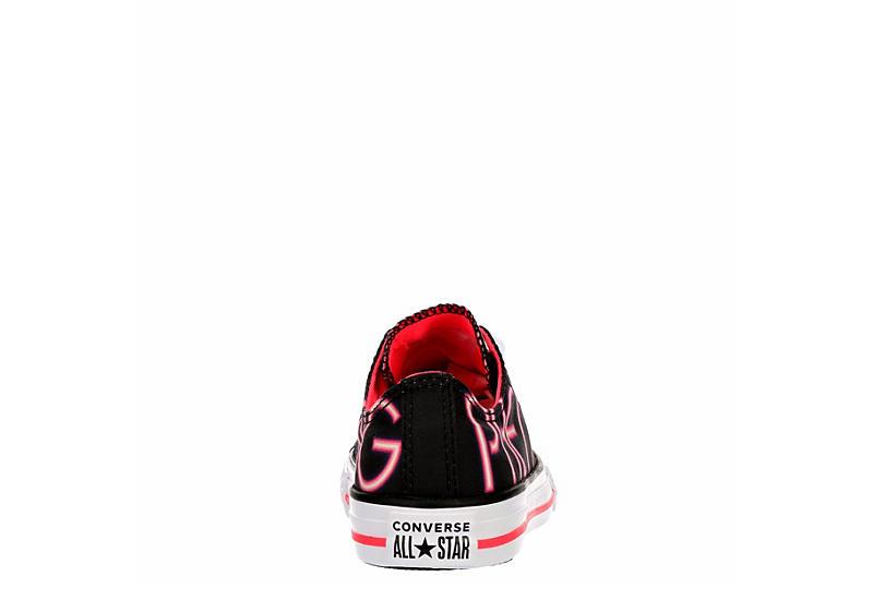 CONVERSE Girls Chuck Taylor All Star Low Sneaker - BLACK