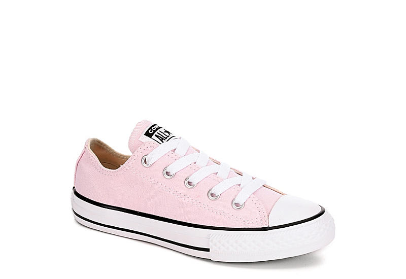 PINK CONVERSE Girls Chuck Taylor All Star Low Sneaker