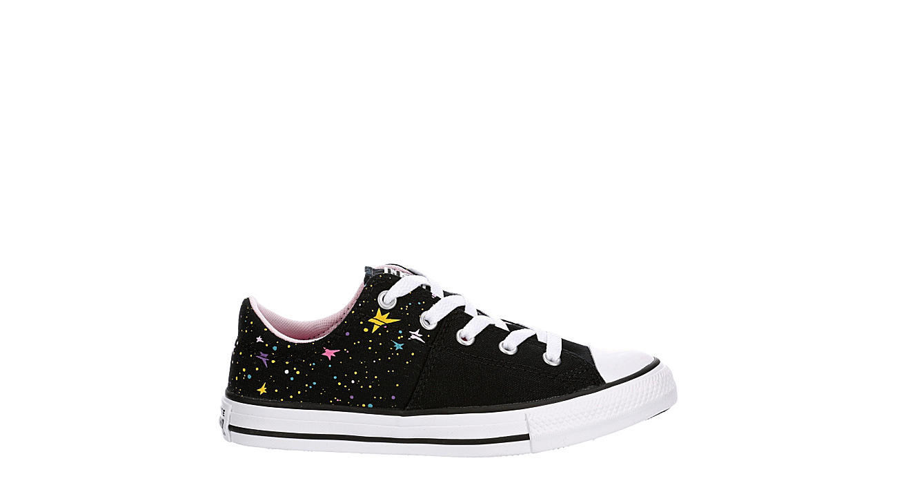 CONVERSE Girls Chuck Taylor All Star Madison Low Sneaker - BLACK
