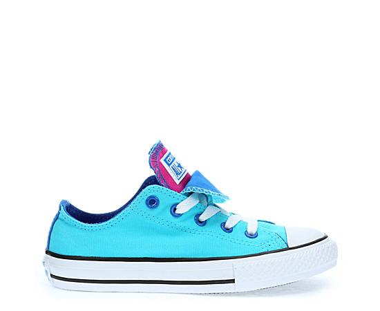 Girls Preschool Double Tongue Sneaker