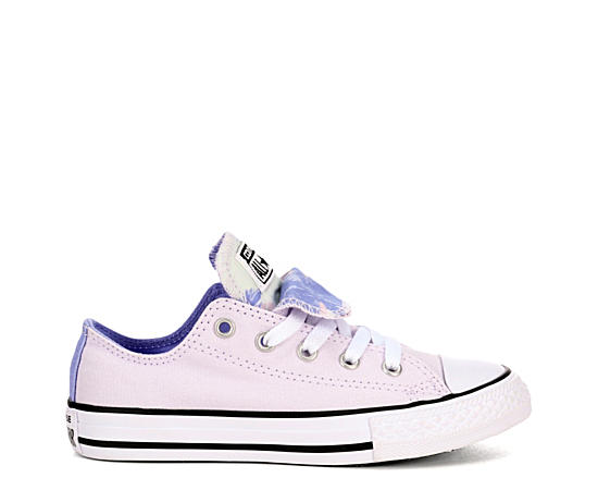 Girls All Star Double Tongue Preschool Sneaker