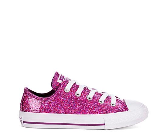 Girls Chuck Taylor All Star Glitter Low Sneaker