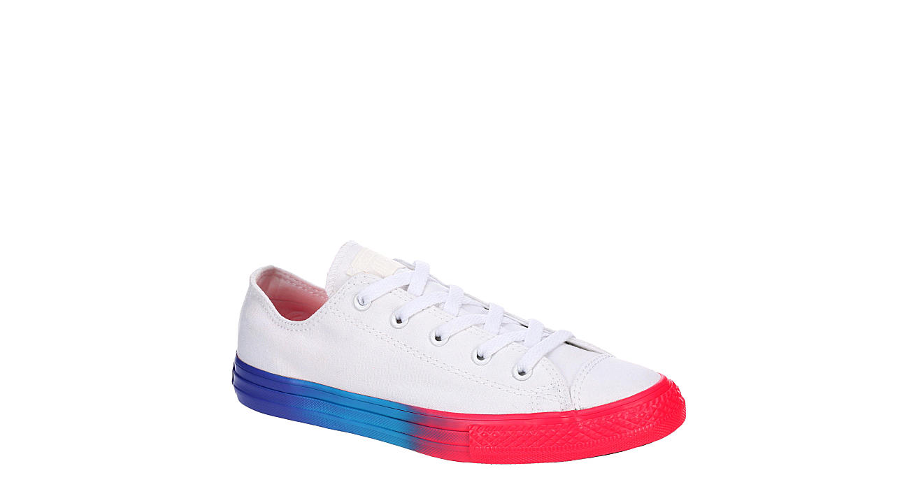 CONVERSE Girls Chuck Taylor All Star Low Sneaker - WHITE