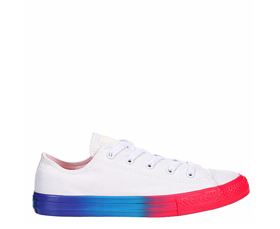 Girls Chuck Taylor All Star Rainbow Low Sneaker