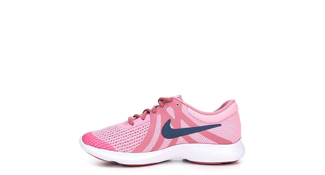 Nike Girls Revolution 4 Grade School Running Shoe - Pink 61ad317cb