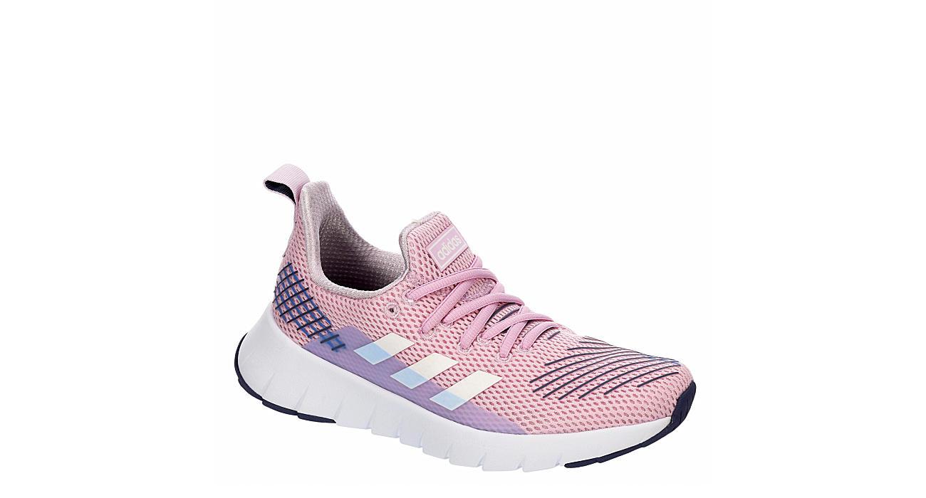ADIDAS Girls Asweego Run Sneaker - PINK