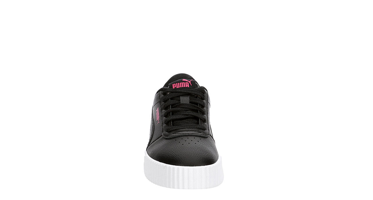 PUMA Girls Carina Sneaker - BLACK
