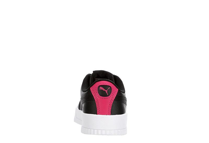 PUMA Girls Carina Sneaker - BLACK