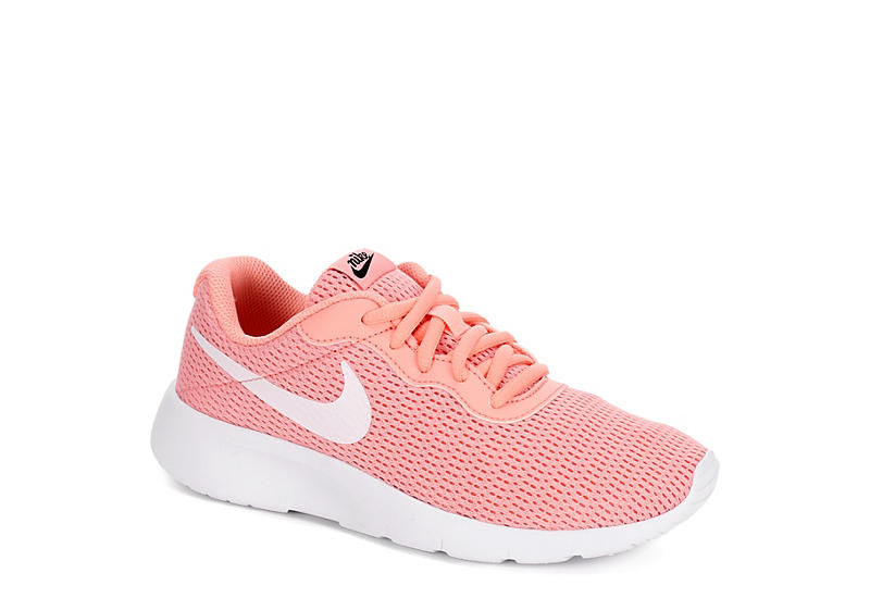 classic style size 7 best shoes CORAL NIKE Girls Tanjun