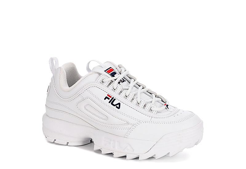1f17449a5e WHITE FILA Girls Disruptor Ii