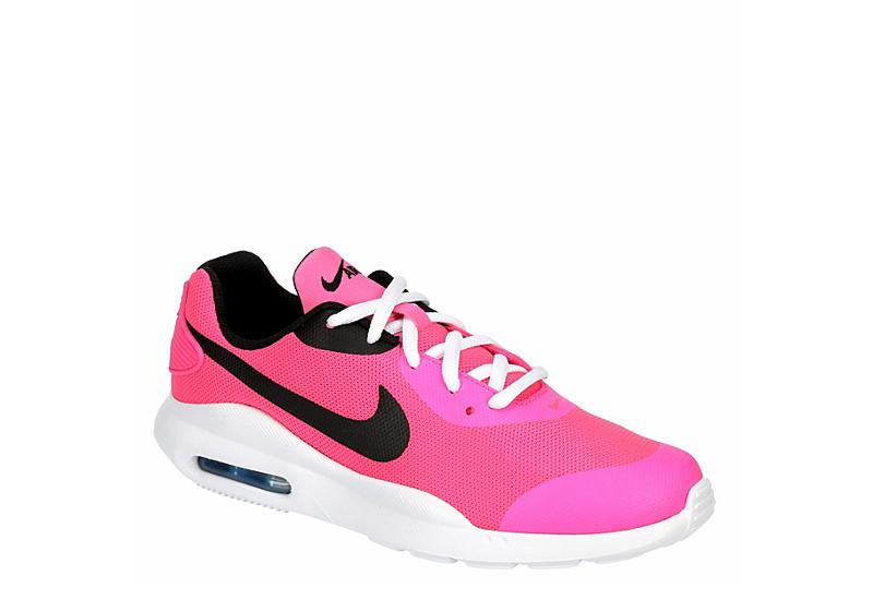 Pink Nike Girls Air Max Oketo Sneaker