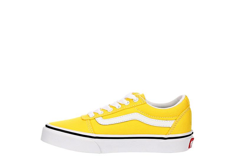 VANS Girls Ward Sneaker - YELLOW