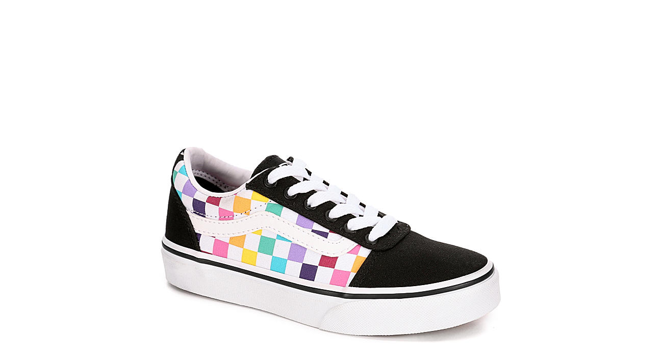VANS Girls Ward Sneaker - BLACK
