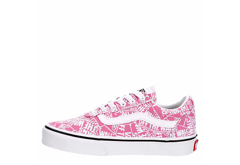 VANS Girls Ward Sneaker - PINK