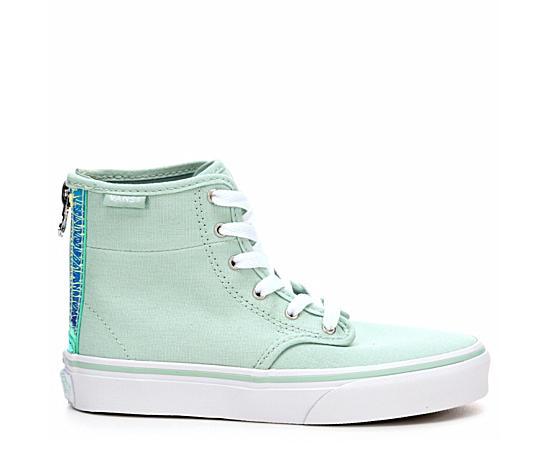 Girls Camden High Top Zip Grade School Sneaker
