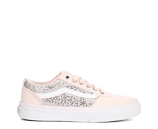 Girls Ward Low Glitter Grade School Sneaker