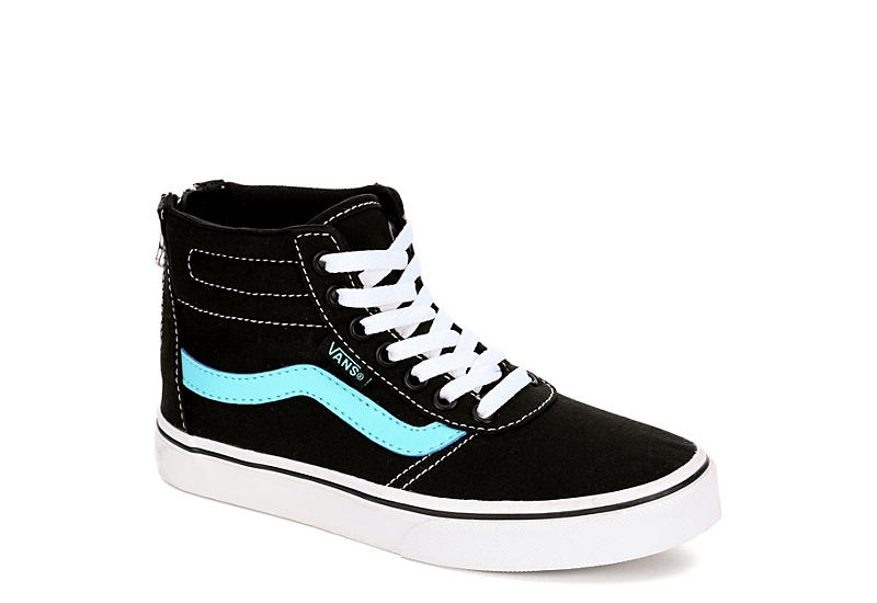 a70f58432f Vans Girls Ward High Top Sneaker - Black