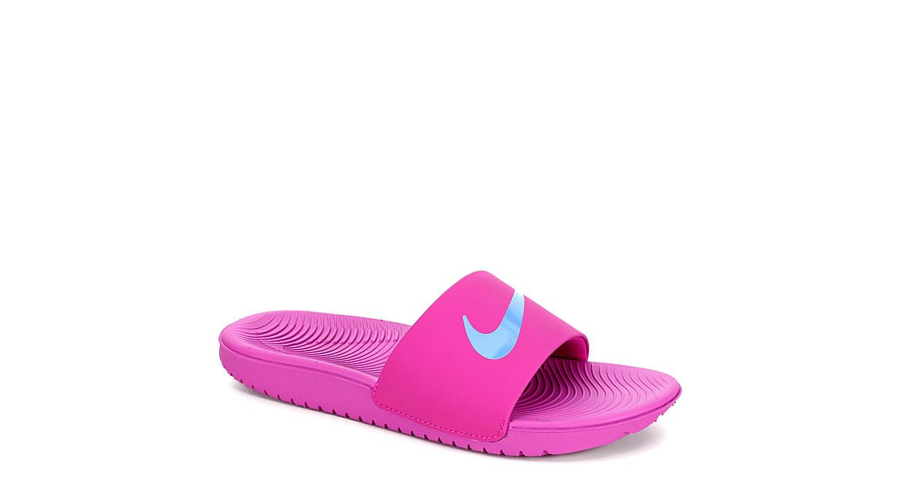01069bdec9a Nike Girls Kawa Slide Sandal - Purple
