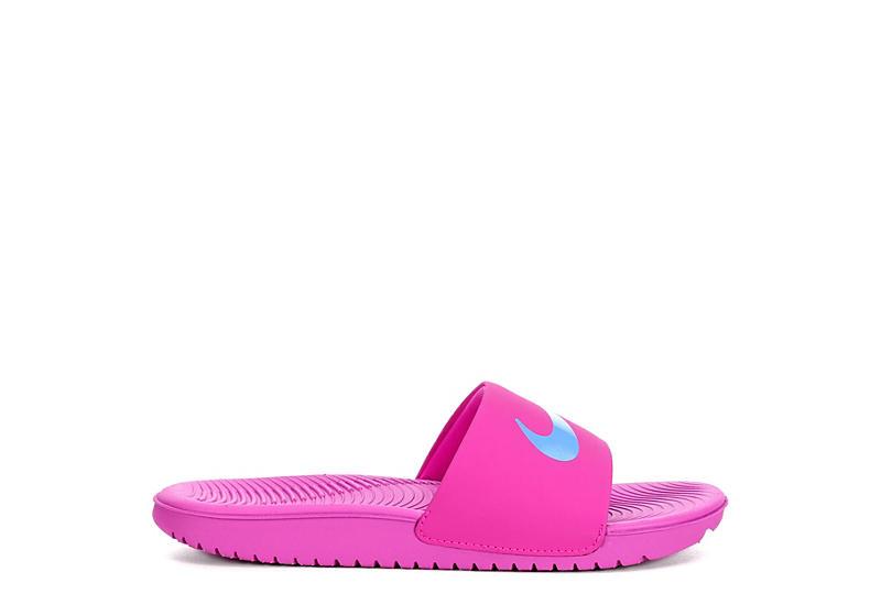f90896ccc769 Nike Girls Kawa Slide Sandal - Purple
