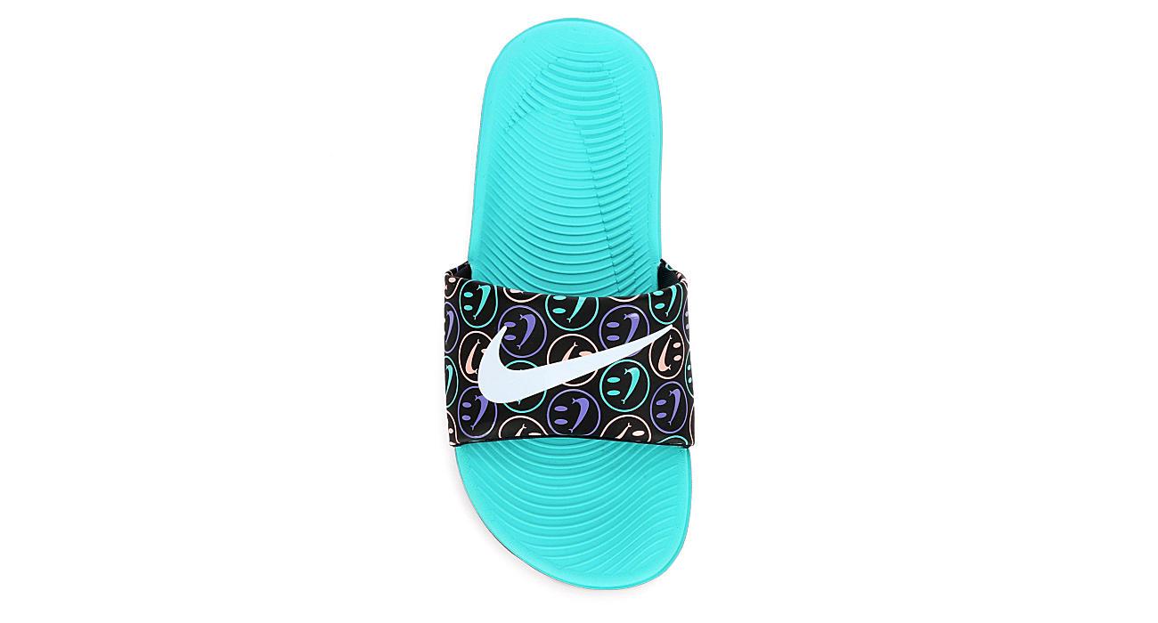 108f8d7be0e5 Nike Girls Kawa Slide Sandal - Black