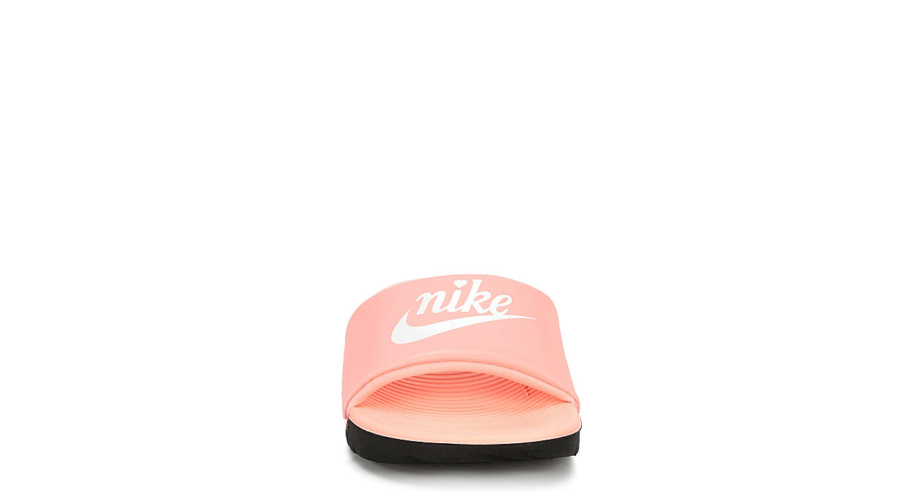 NIKE Girls Kawa Slide Sandal - CORAL