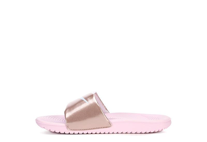 NIKE Girls Kawa Slide Sandal - BLUSH