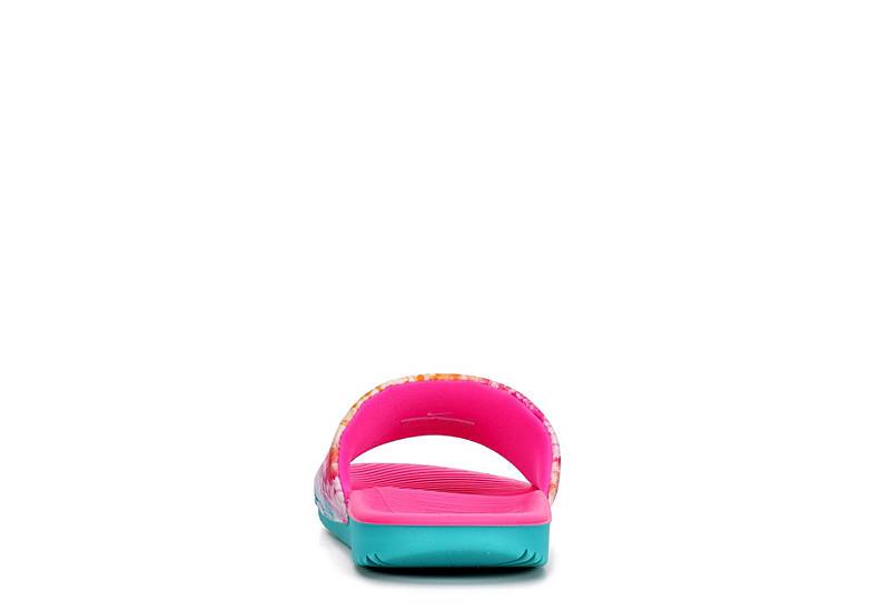 NIKE Girls Kawa Slide Sandal - TURQUOISE