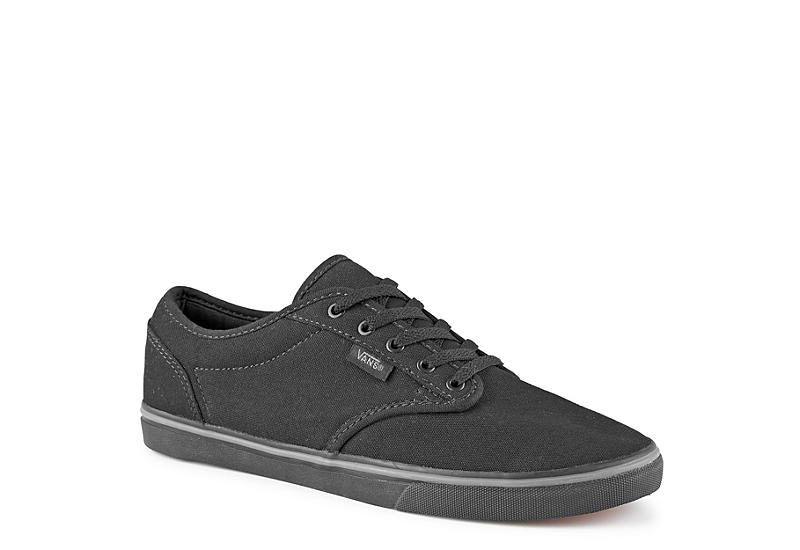 ccb5977a457 Black Vans Atwood Women s Low Top Sneakers