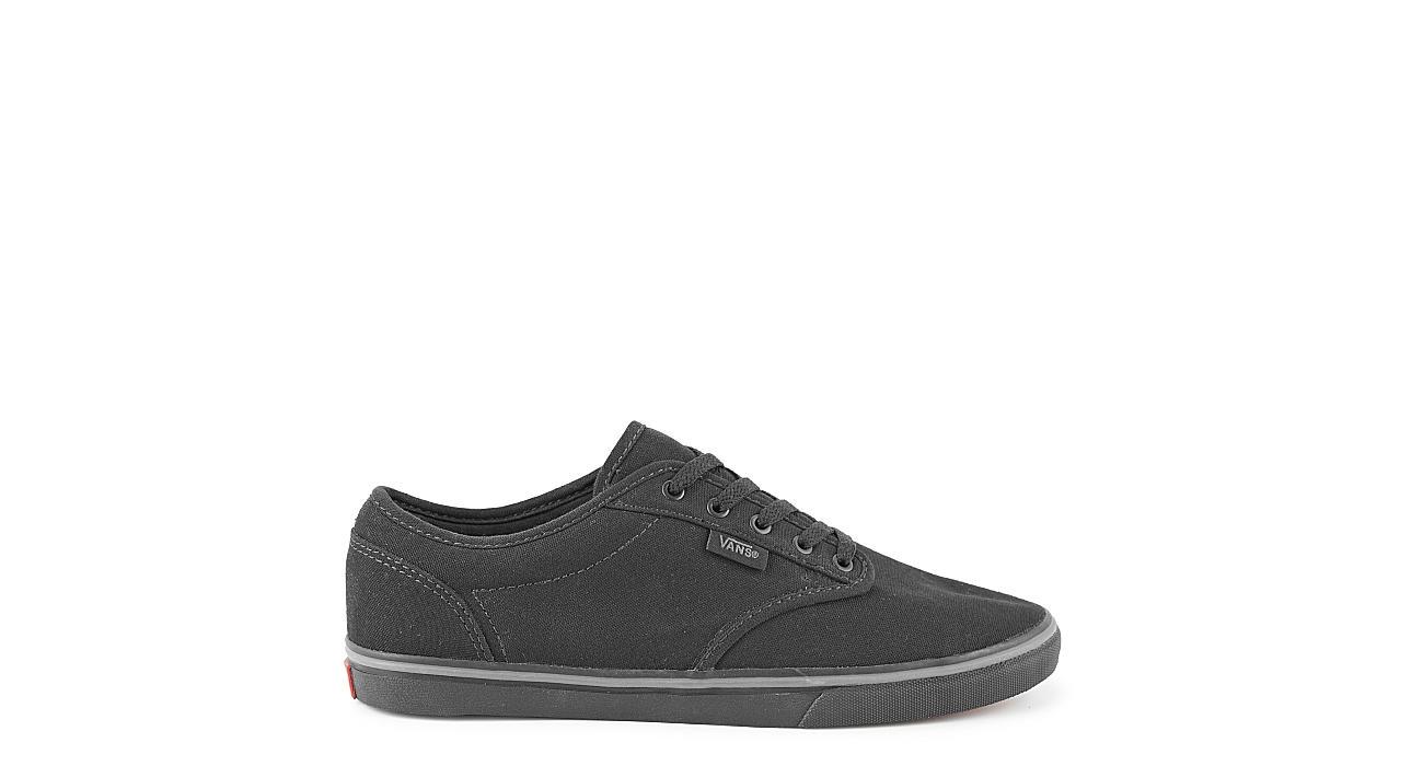 8ef34eff28d Black Vans Atwood Women s Low Top Sneakers
