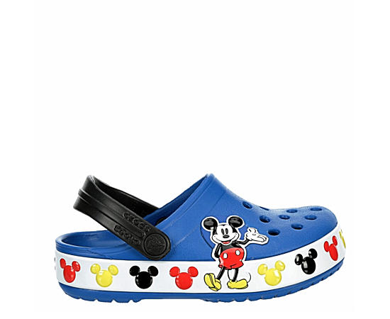 Boys Infant Boys Classic Clog Mickey Mouse