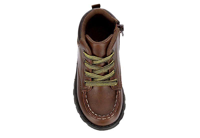 CARTERS Boys Infant Brand Boot - BROWN
