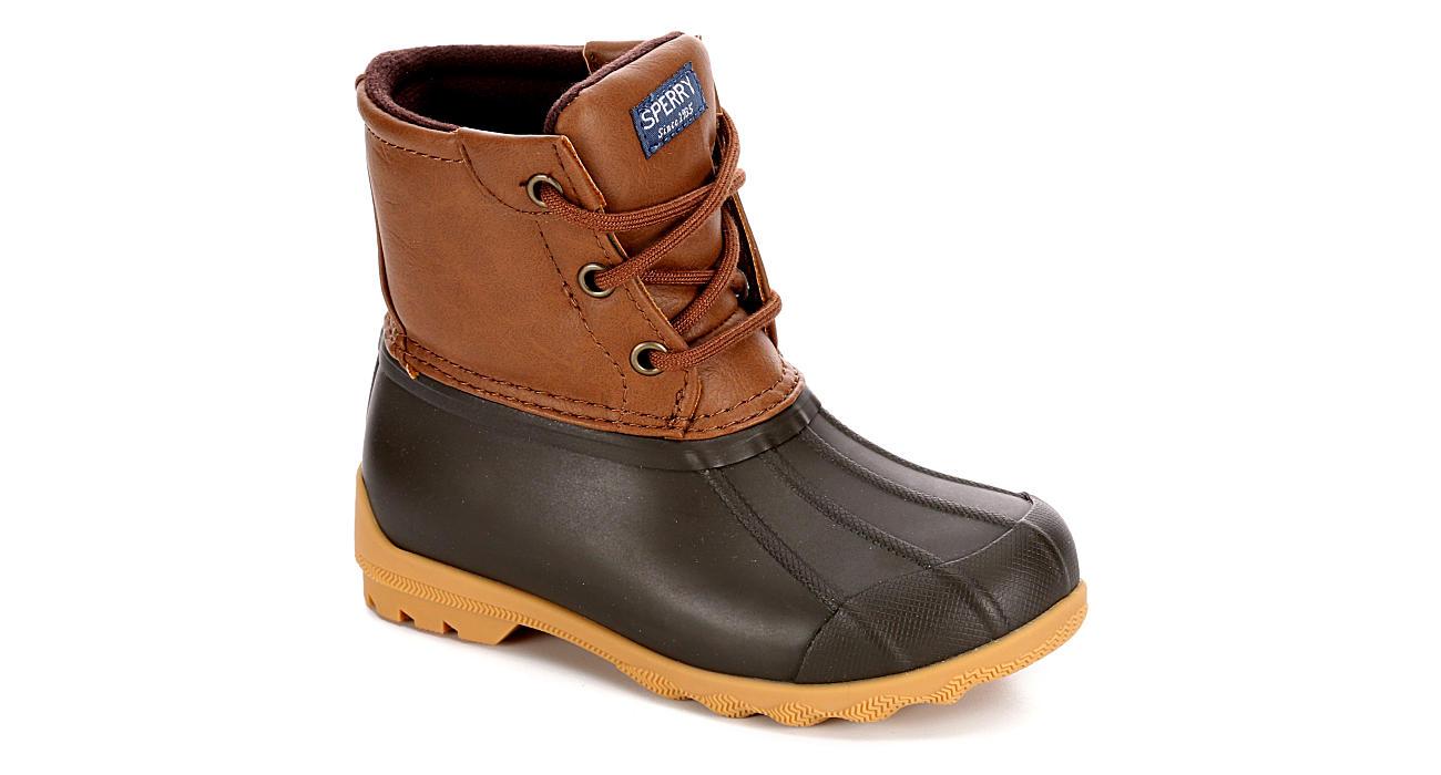 SPERRY Boys Port Boot - TAN