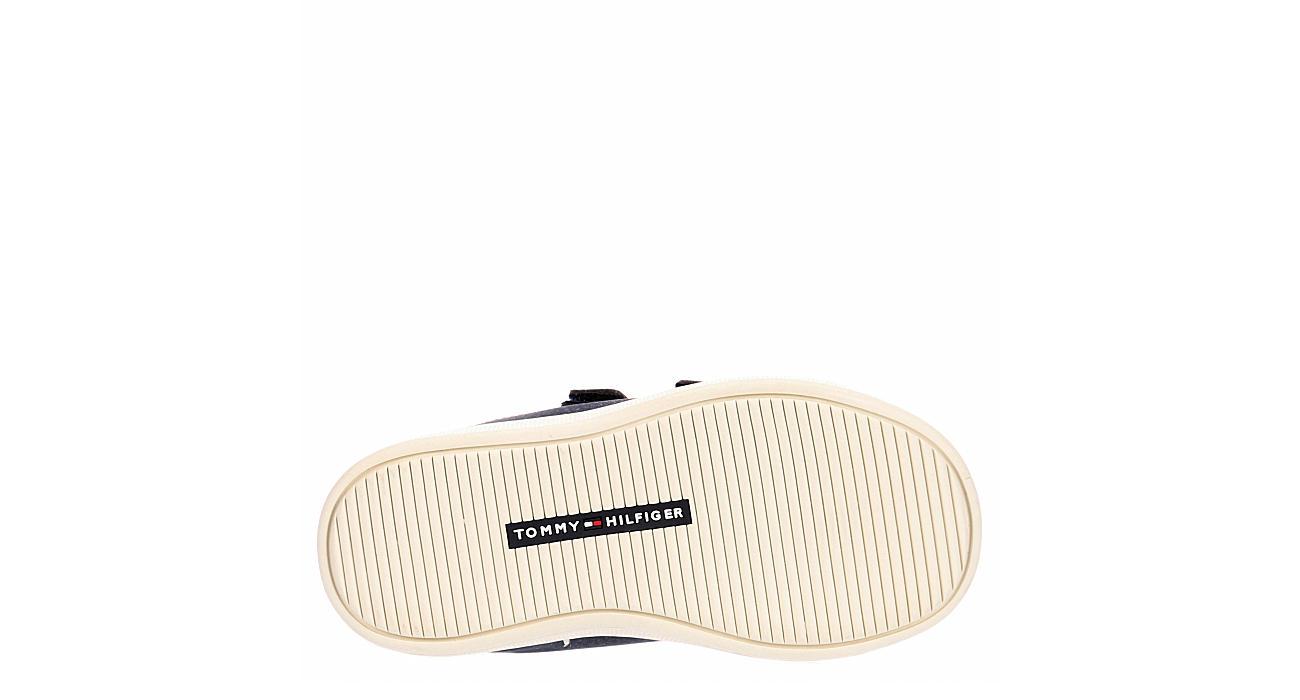TOMMY HILFIGER Boys Infant Boys Iconic Court Velcro Sneaker - NAVY