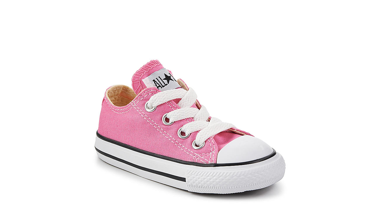CONVERSE Girls Chuck Taylor All Star Lo Sneaker - PINK