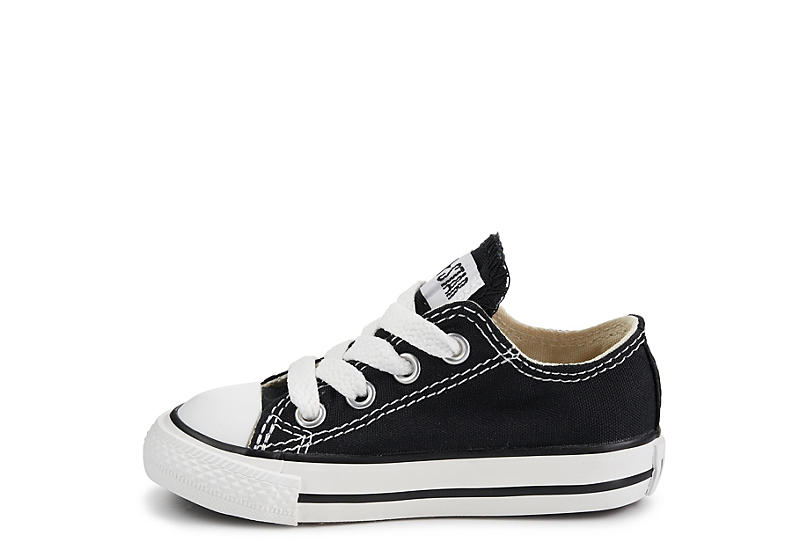 CONVERSE Boys Infant Chuck Taylor All Star Low Sneaker - BLACK