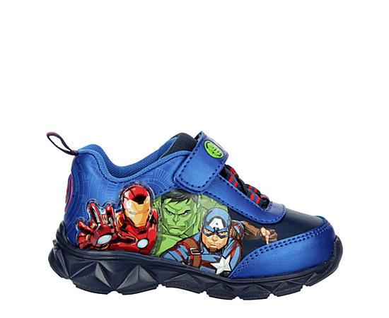 Boys Infant Avengers Lighted Sneaker