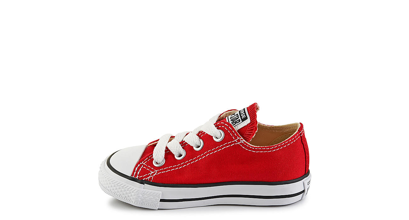 CONVERSE Boys Chuck Taylor All Star Infant Sneaker - RED