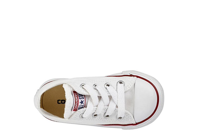 CONVERSE Boys Infant Chuck Taylor All Star Low Sneaker - WHITE