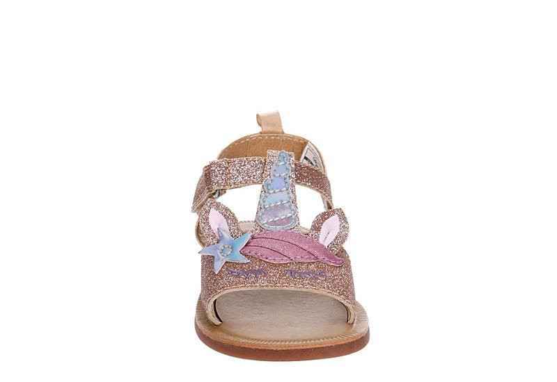 OSHKOSH B`GOSH Girls Infant Louise Unicorn Sandal - PALE PINK